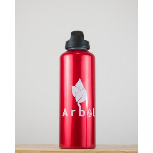 Gourde Rouge recyclable 1L Arbol