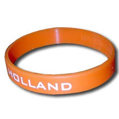 Bracelet silicone Orange Hollande