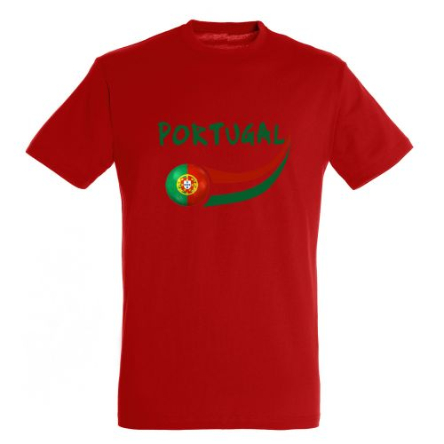 T-shirt enfant Rouge Portugal