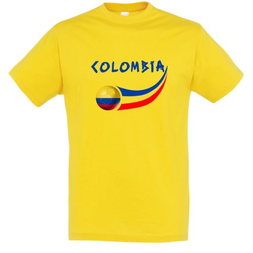 T-shirt enfant Jaune Colombie