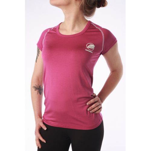 """Tee-Shirt Natural Peak Femme """"Ecrin"""" Viola coutures Blanches"""