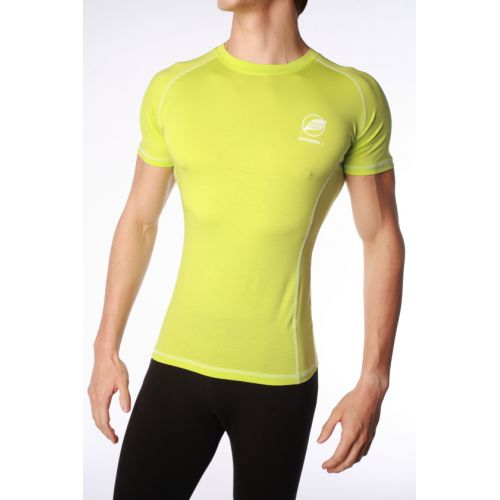 Tee-Shirt Natural Peak Homme CHARVIN Vert Lime