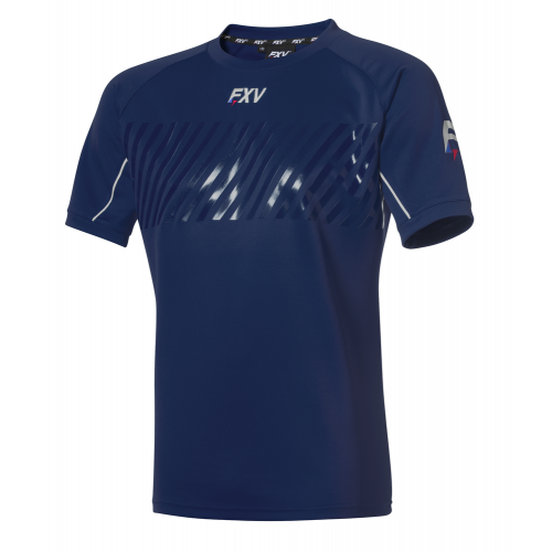 FXV MAILLOT DE RUGBY ENTRAINEMENT ACTION Marine