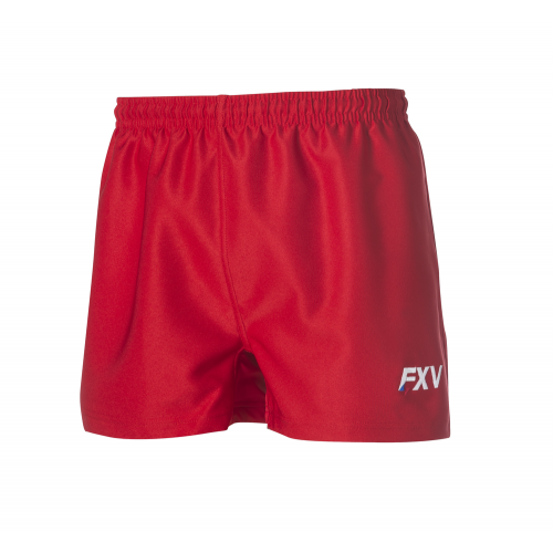 FXV SHORT DE RUGBY FORCE LADY Rouge