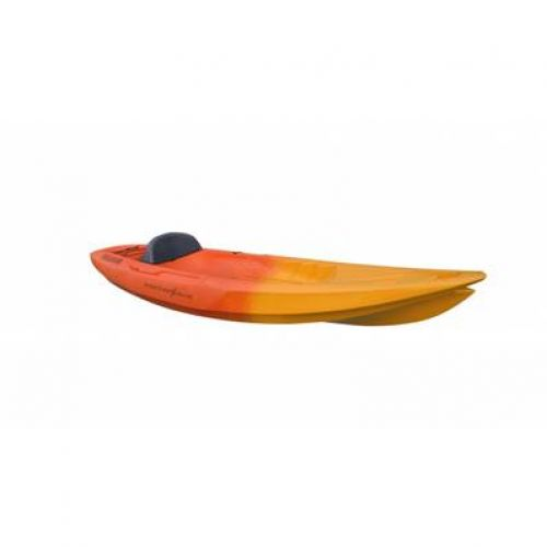 SEADOG Kayak solo - Orange / Rouge Point 65°N