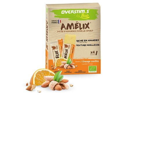 Barre Amélix bio orange (4x25g)