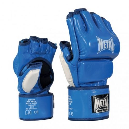 Mitaines / Gants Combat Libre brillant MMA METAL BOXE
