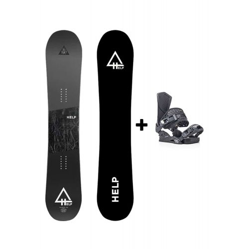 PACK Planche The Roots + fixations SS Helpsnowboards