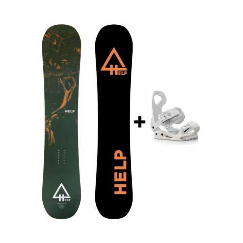 PACK Planche The Valley + fixations Drake Queen Helpsnowboards
