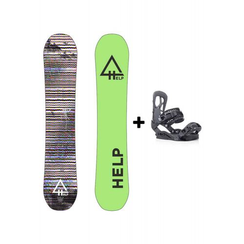 PACK Planche The Rise + Fixations Drake Fifty Helpsnowboards