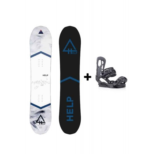 PACK Planche The Future + Fixations Drake Queen Helpsnowboards