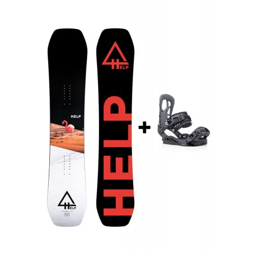 PACK Planche The Harmony + fixations Drake fifty Helpsnowboards