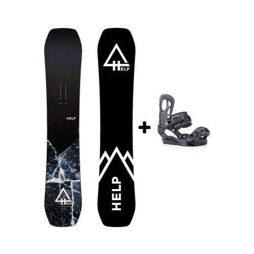 PACK Planche The Mountain + Fixations Drake Fifty Helpsnowboards