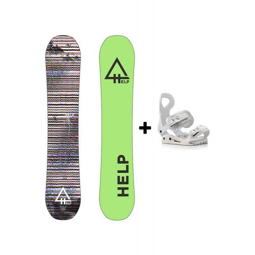 PACK Planche The Rise + Fixations Drake Queen Helpsnowboards