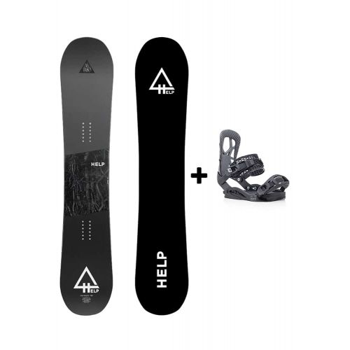 PACK Planche The Roots + fixations Drake Fifty Helpsnowboards
