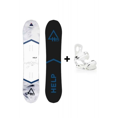 PACK Planche The future + fixations Drake fifty Helpsnowboards