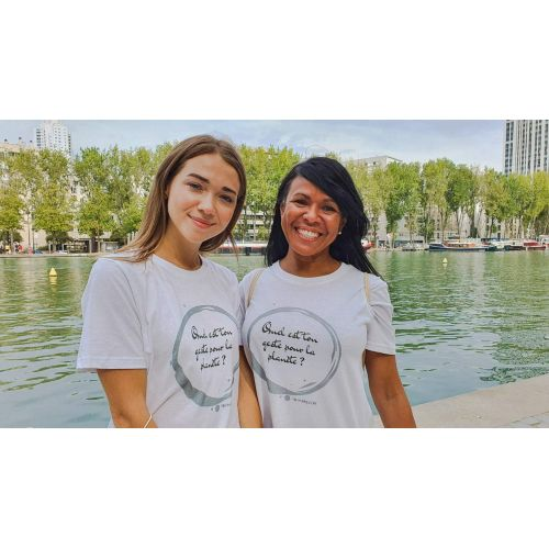 T-shirt YBY FOR THE PLANET YBY Paris