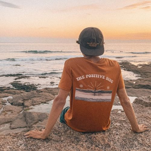The Positive Side Tee surfeur Salty Smile