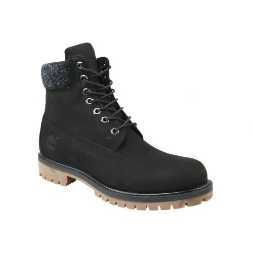 Timberland 6 In Premium Boot A1UEJ noir Homme Chaussures hiver Noir