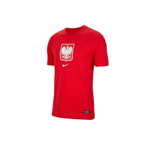 Nike Poland Evergreen Crest Tee CU9191-611 Homme T-shirt Rouge