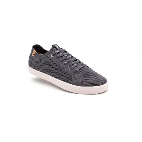 Chaussures vegan CANNON KNIT CHARCOAL Saola